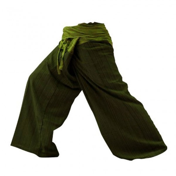 Tone Fisherman Pants Trousers Green