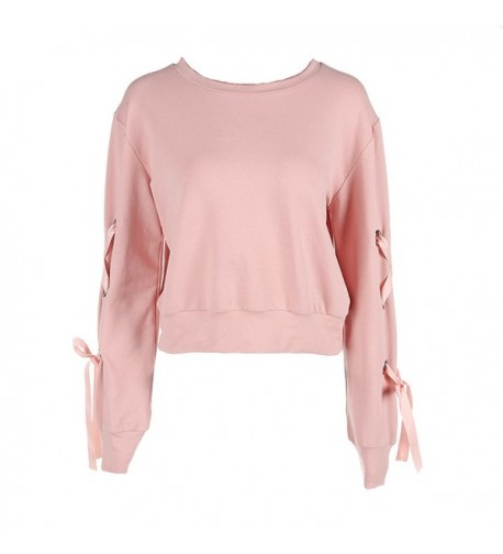 LOTUYACY Womens Sleeve Pullover Sweatshirt