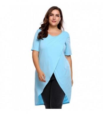 Womens Sleeve Neckline Blouse T shirt