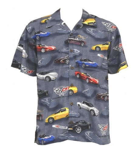 Corvette Hawaiian Shirt David Carey