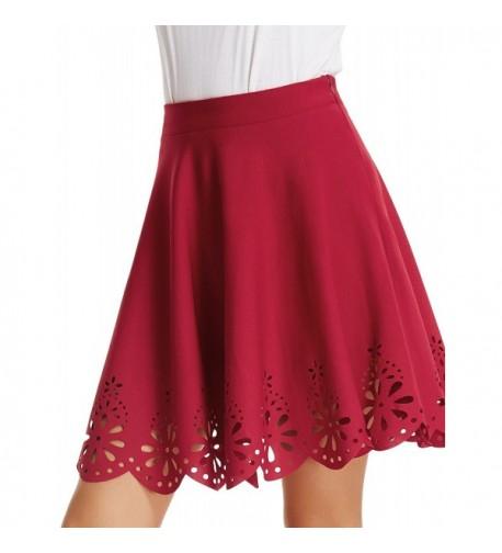 Ladies Classic Skater Skirt Length