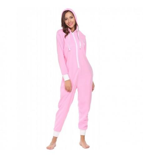 Dozenla One Piece Pajamas Loungwear Sleepwear
