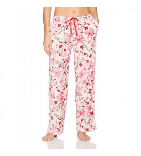 HUE Womens Flurry Floral Pockets