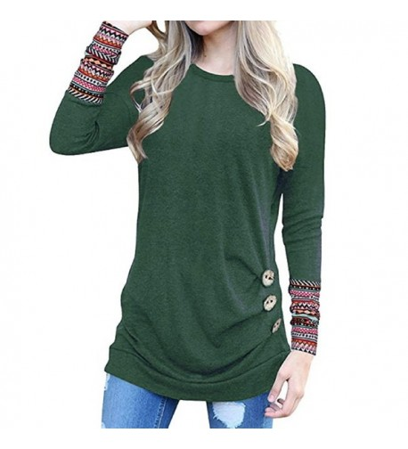 Cnfio T Shirt Patchwork Blouses Sweatshirts