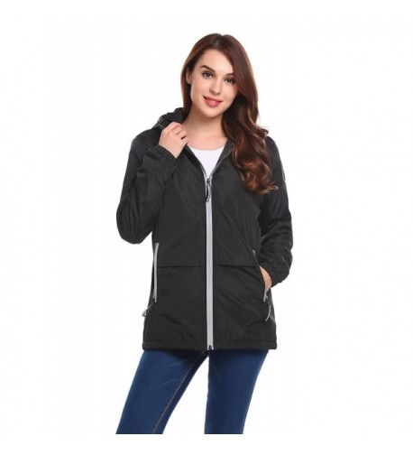 Elever Womens Casual Thicken Outwear