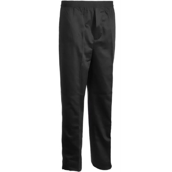 Premium Elastic Waist Pocket Fly Black
