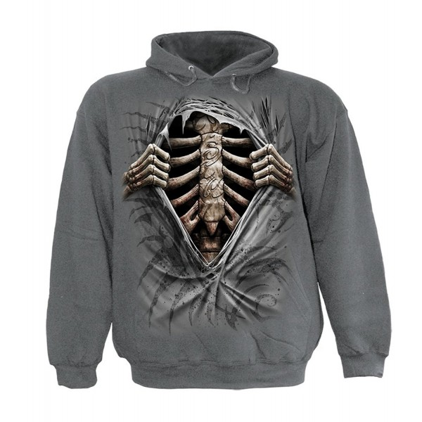 Spiral Mens SUPER Hoody Charcoal