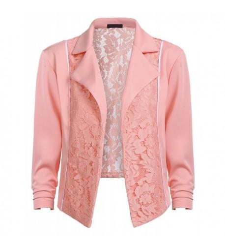 Womens Casual Work Blazer Jacket