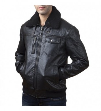 Fashion Men's Faux Leather Jackets
