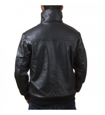Popular Men's Faux Leather Coats