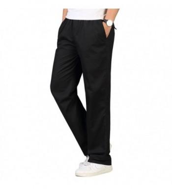 OCHENTA Elastic Waist Lightweight Workwear