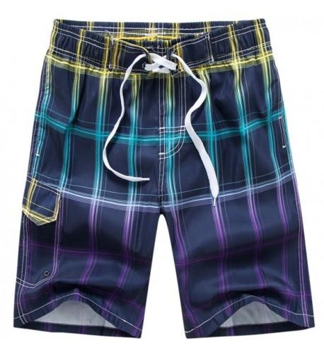 MACHLAB Printing Elastic Drawstring Shorts