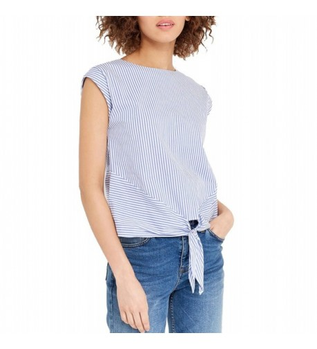 Blooming Jelly Womens Button Stripe