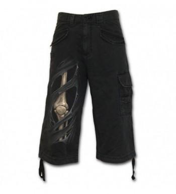 Spiral Mens Vintage Cargo Shorts