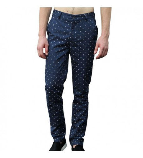 Allegra Pattern Pockets Regular Trousers