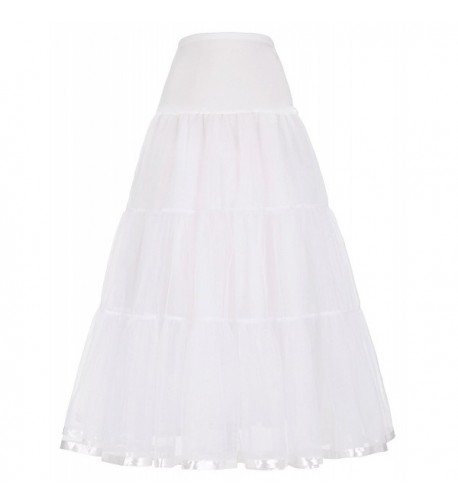 Ladies Floor length Petticoat Bridal Dress
