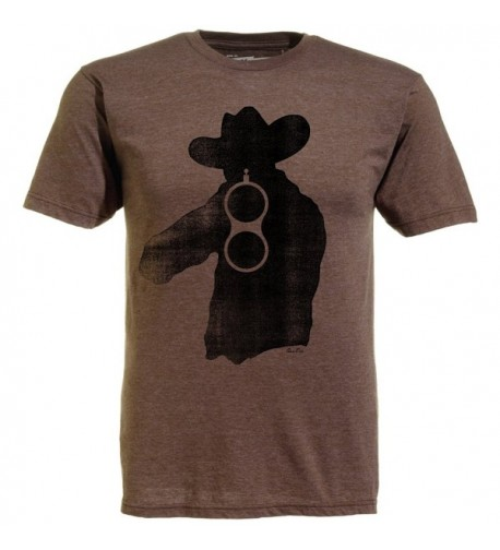 Ames Bros T shirt Brown Xlarge