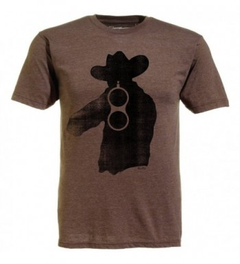 Ames Bros T shirt Brown Xlarge