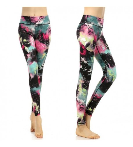 SOUTEAM Leggings Lightweight Fitness Watercolor