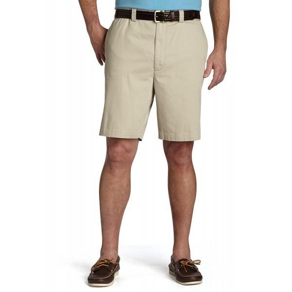 Harbor Bay Waist Relaxer Flat Front Shorts