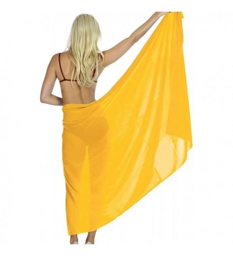 Leela Beach Sarong Swimwear Chiffon