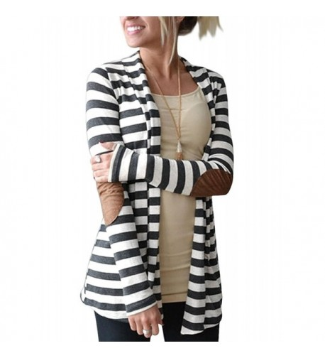 Myobe Striped Cardigan Sweaters Outwear