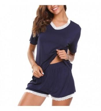 Aimado Sleepwear Womens Sleeve Pajama