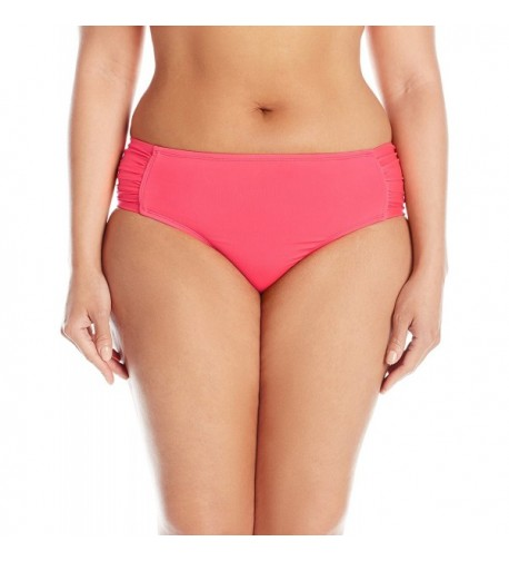 Cole California Womens Plus Size Shirred