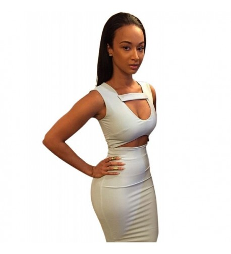 Allegrace Women Bodycon Bandage Medium