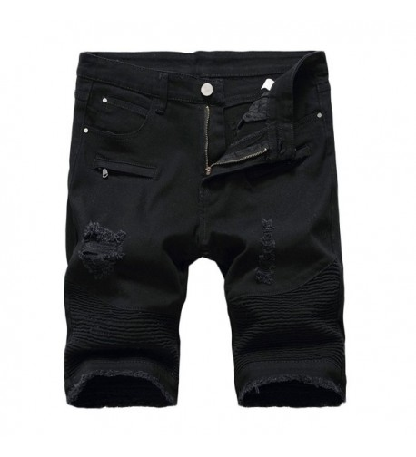 Kool Classic Destroyed Distressed Ripped black