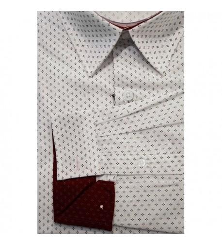 Harve Benard Pattern Button Shirt