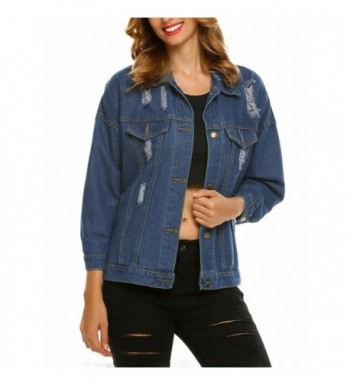 Designer Women's Denim Jackets On Sale