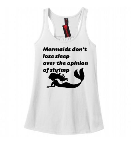 Comical Shirt Ladies Mermaids Opinion