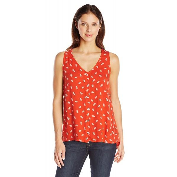 KAVU Womens Beryl Shirt Firewater