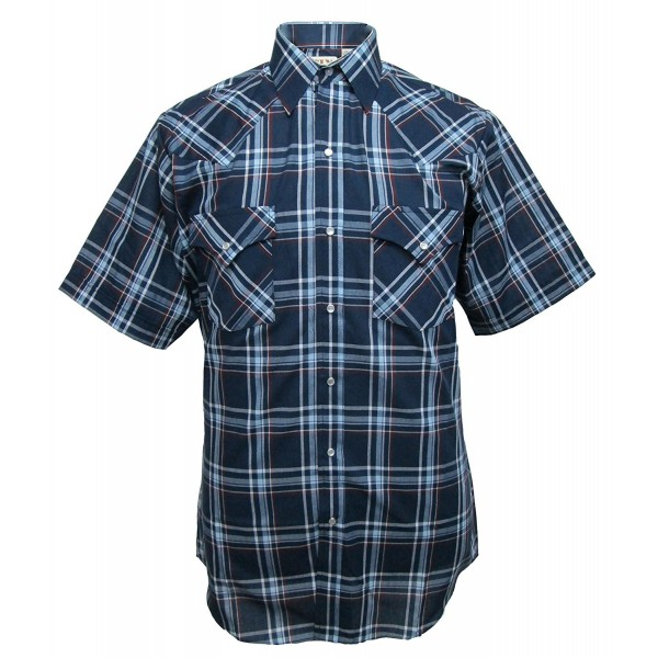 Cattleman Short Sleeve Plaid Western