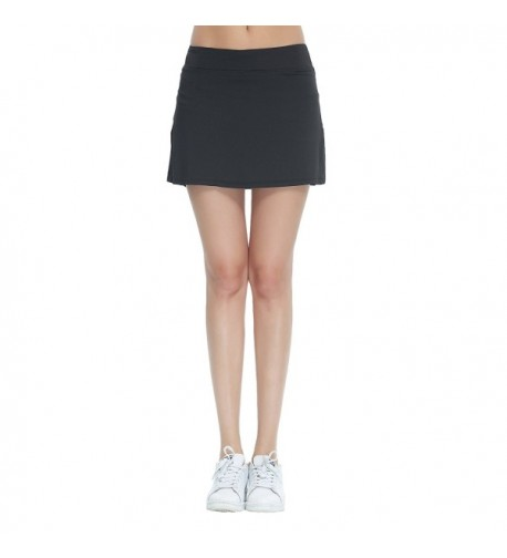 Cityoung Pleated Underneath Running Skorts