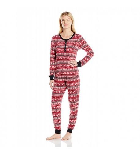 Peanuts Womens Knit Pajama Fair
