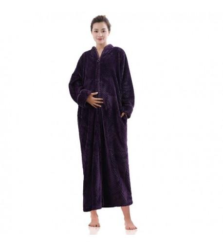 Artfasion Maternity Pregnant Bathrobe Nightgown