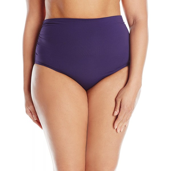 Anne Cole Plus Size Convertible High Waist