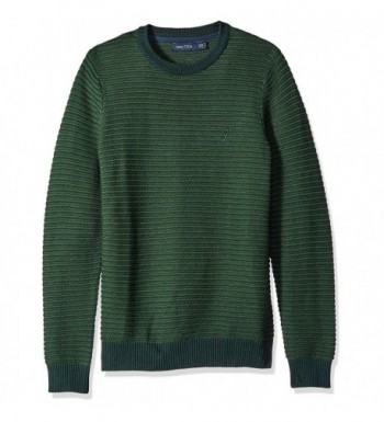 Nautica Mens Tonal Striped Sweater