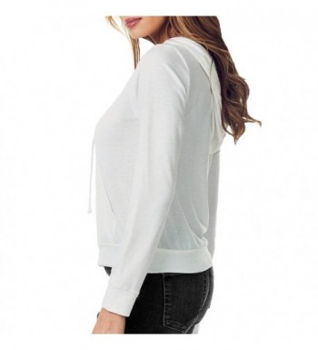 37f654b122 juellie Womens Lightweight Sweater Offwhite  Cheap Real Women s Fashion  Hoodies Outlet Online ...