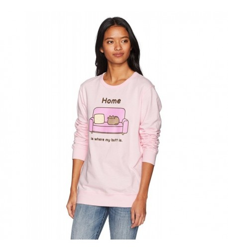 Pusheen Womens Where Sweatshirt Large