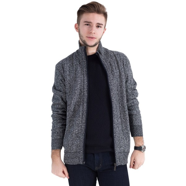 Msmsse Mens Knitted Cardigan Sweater