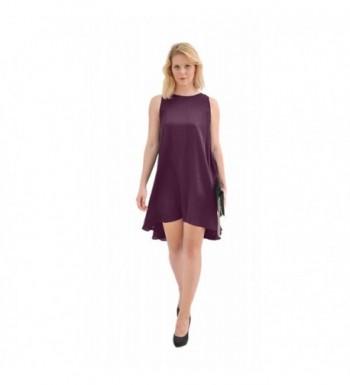 Marycrafts Womens Sleeveless Dancing Purple