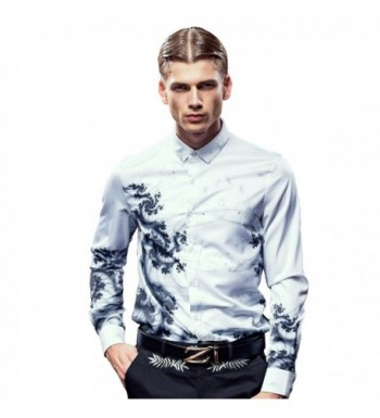 FANZHUAN Skinny Shirt Shirts Stylish