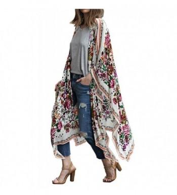 Floral Season Oversize Chiffon Cardigan