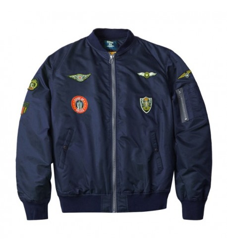 Neo wows Mens Bomber Jacket patches