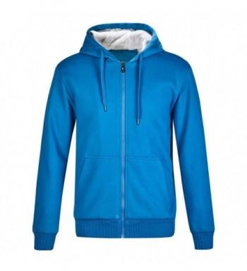ZITY Mens Fleece Hoodie Jacket