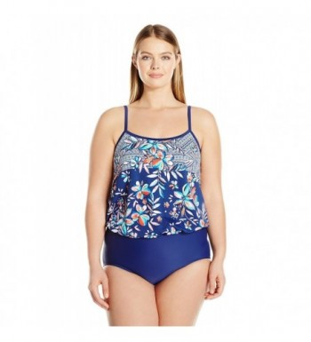 Maxine Hollywood Tropical Swimsuit Adjustable