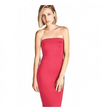 DNA Couture Womens Strapless Bodycon